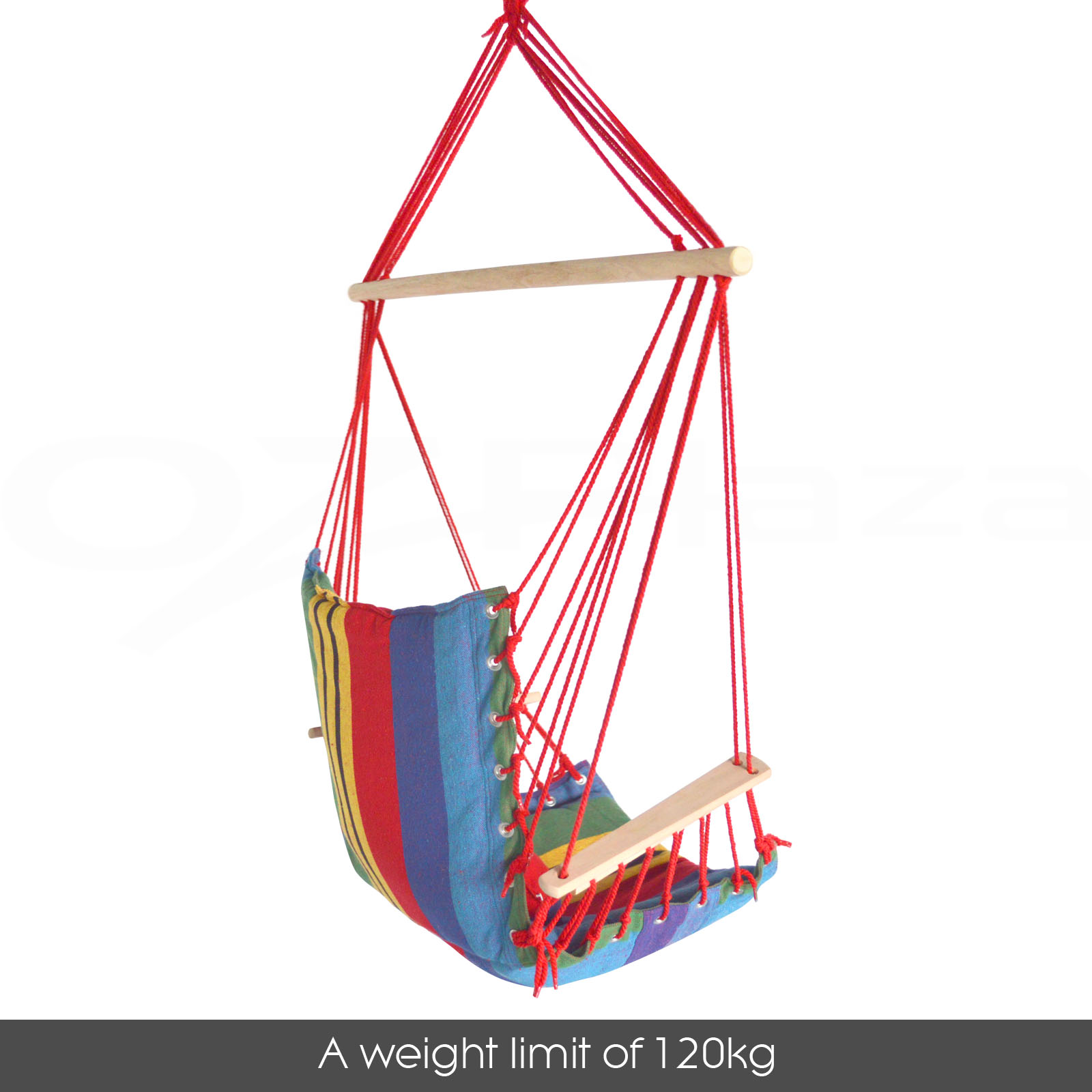 hanging chair ebay au free adirondack plans lowes deluxe hammock swing includes soft cushions