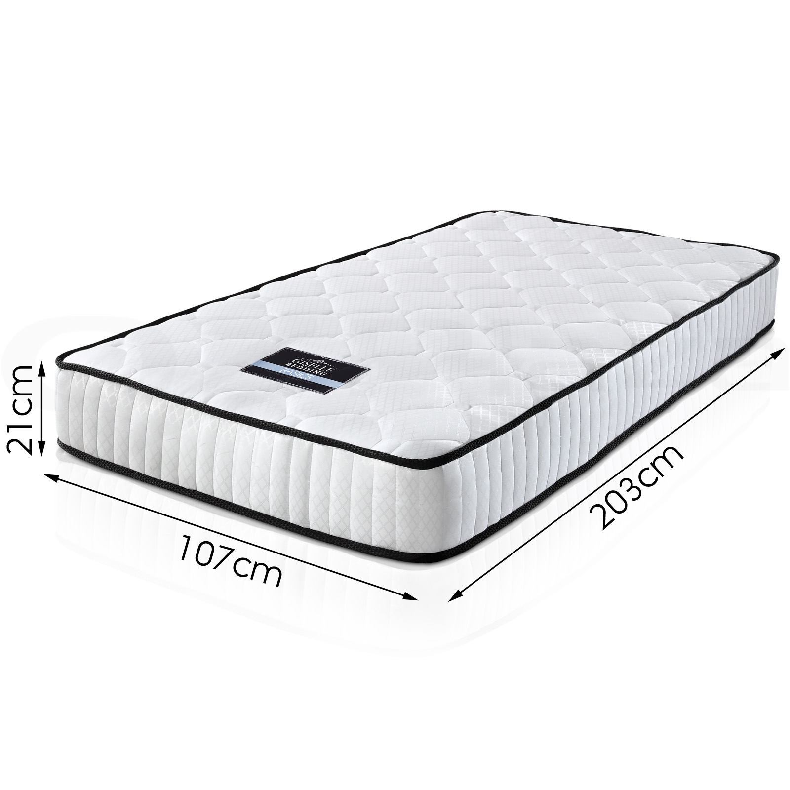 Giselle Bedding Mattress Queen Double King Single Size Bed