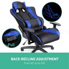 Mesh Gaming Chair Set Of Six Dining Chairs For Sale Executive Office Racing Computer Pu Leather