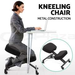 Office Chair Posture Tips Revolving Pvc Base Adjustable Kneeling Stool Stretch Knee Yoga