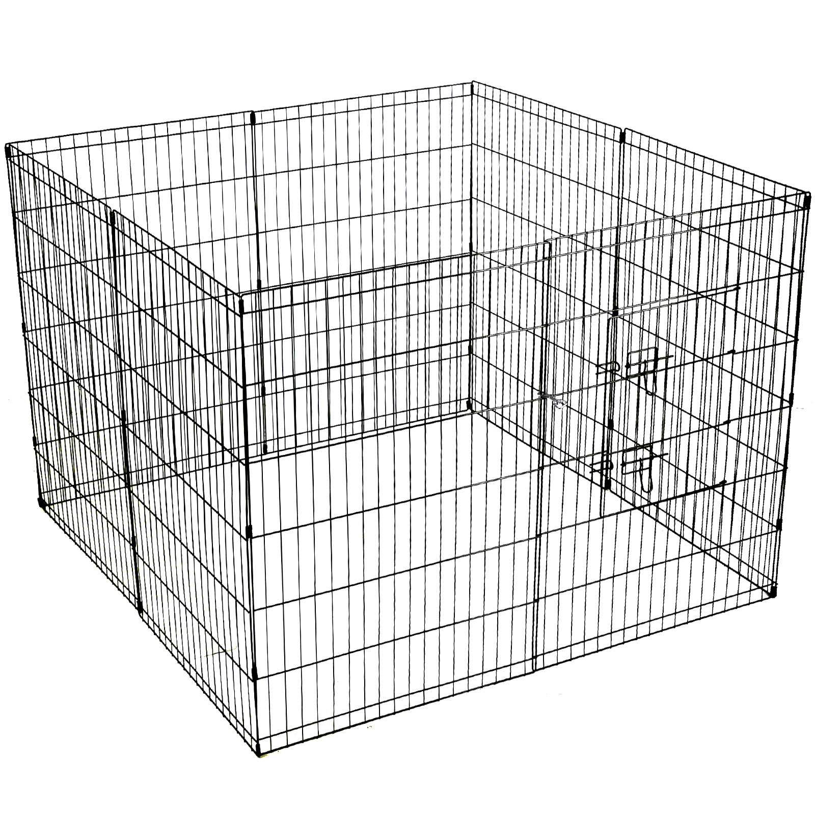 8 Panel Pet Dog Playpen Puppy Portable Exercise Cage