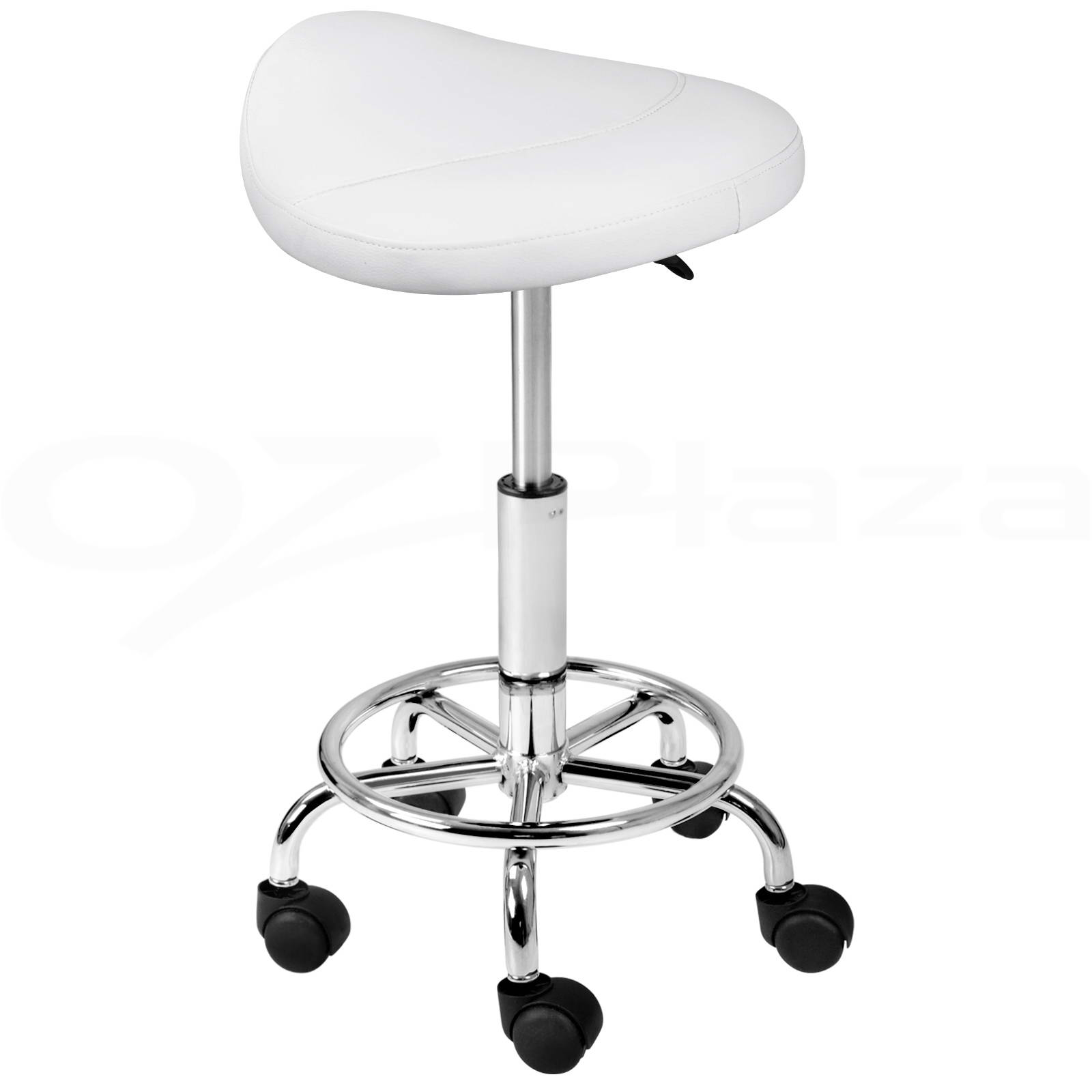 white hair styling chairs chapel with kneelers saddle salon stool pu swivel barber dress chair