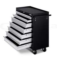 Giantz 7 Drawers Mechanic Tool BOX Chest Cabinet Trolley ...