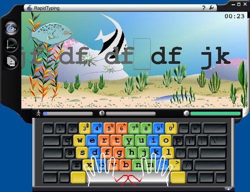 免費軟體資源補給 » 可愛風打字練習遊戲-RapidTyping Typing Tutor