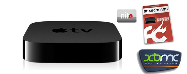 Apple TV 2G jailbreak 5.1.1 install nitoTV + XBMC with nitoinstaller Seas0npass Windows Mac