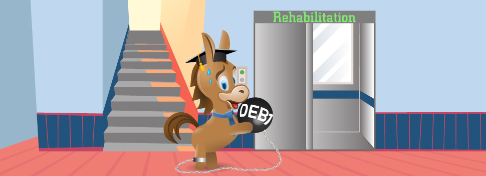 According to education data, student debt in the united states grows at a rate that's six times faster than that of the country's economy. Student Loan Rehabilitation: What Is It, Problems and