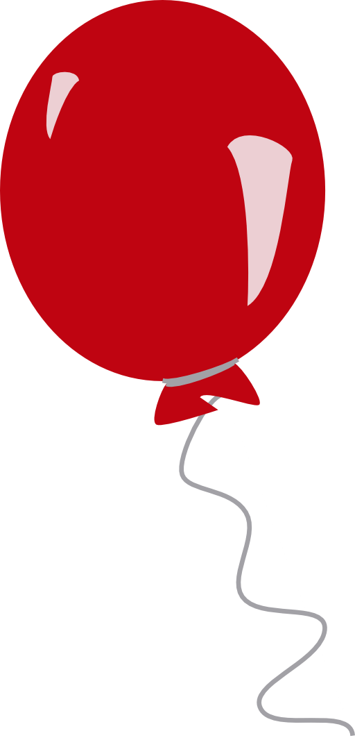 red balloon clipart i2clipart
