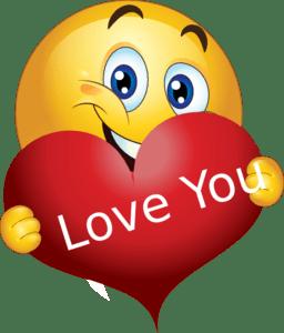 love boy smiley emoticon clipart
