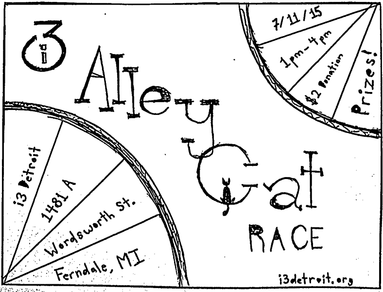 i3 Alley Cat Race