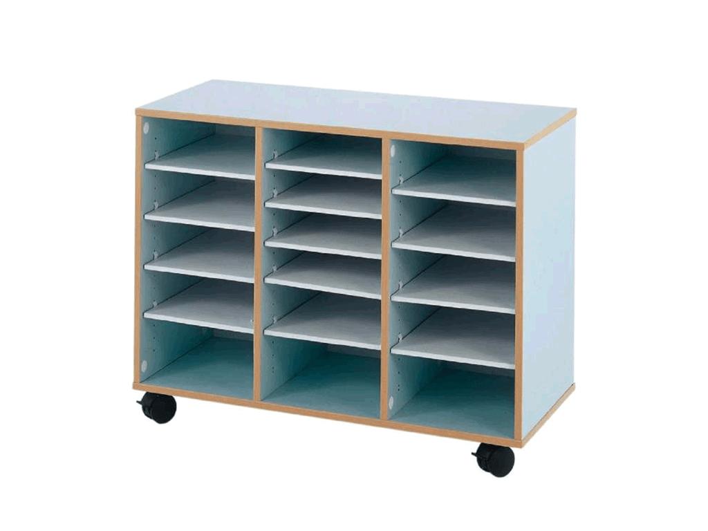 meuble a cases mobiles pour optimiser