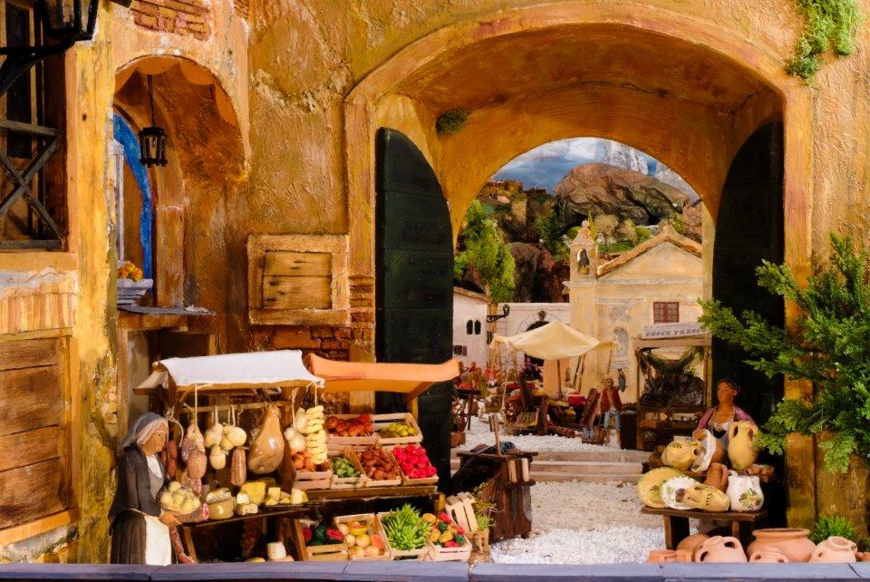 Il Presepe nel Borgo di Ostia Antica