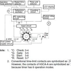 5 Pin Relay Circuit Diagram 2002 Ford Taurus Ses Stereo Wiring H3ca-a | Omron Industrial Automation