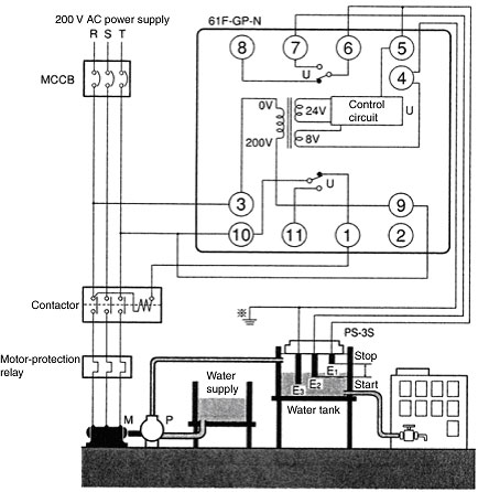 Wl Wiring Diagram Faq00852 For Level Switches Omron Industrial Automation