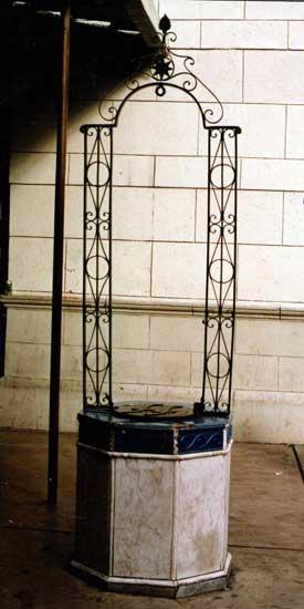 El aljibe del Colegio Fernando Fader La Portea 36