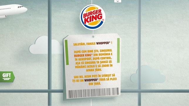 Burger King - Whopper No-Show
