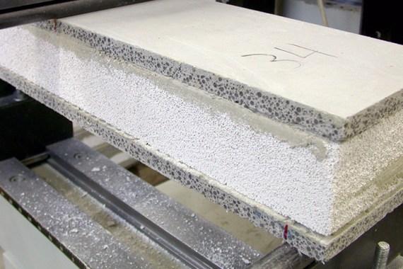 Bild Mineralische Sandwichtafel