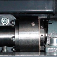 Drive component of a test rig