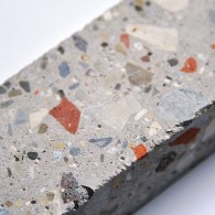 Concrete mix design using recycled materials