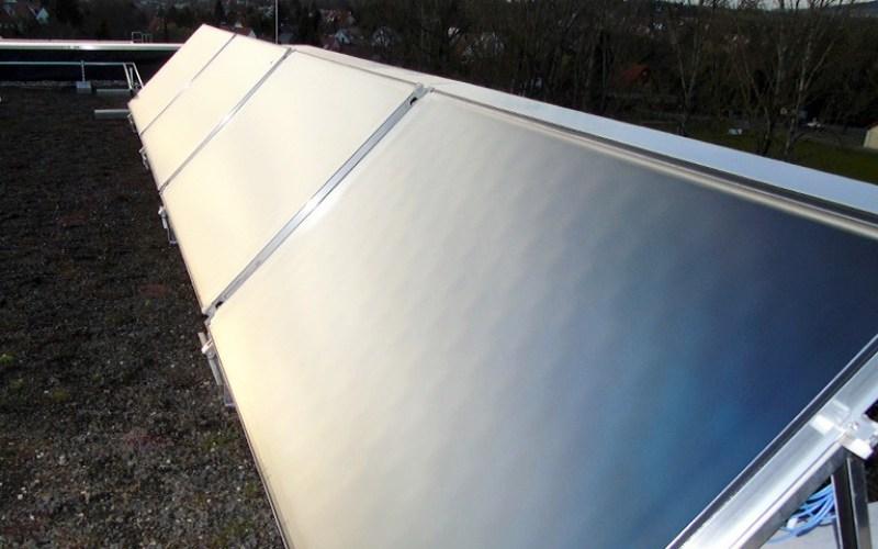 Solarthermieanlage zur Heizungsunterstützung