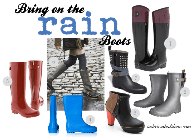 Bring on the Rain Boots - www.iadorewhatilove.com