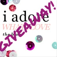 I Adore What I Love: GIVEAWAY! www.iadorewhatilove.com (First Giveaway on my FIRST Anniversary of blogging!)