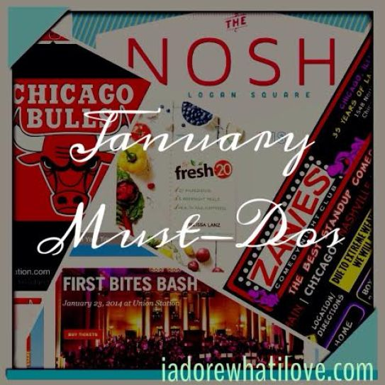 January Must-Dos 2014 - via iadorewhatilove.com