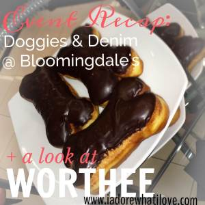 dogs, shopping, denim, bloomingdale's, worthee