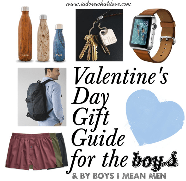 I Adore What I Love - Valentin's Day Gift Guide For the Boys