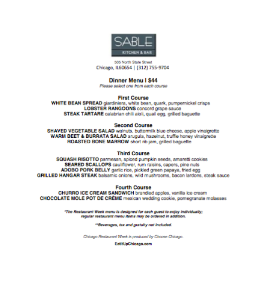 i adore what i love the top chicago restaurant week 2016 menus that appeal to