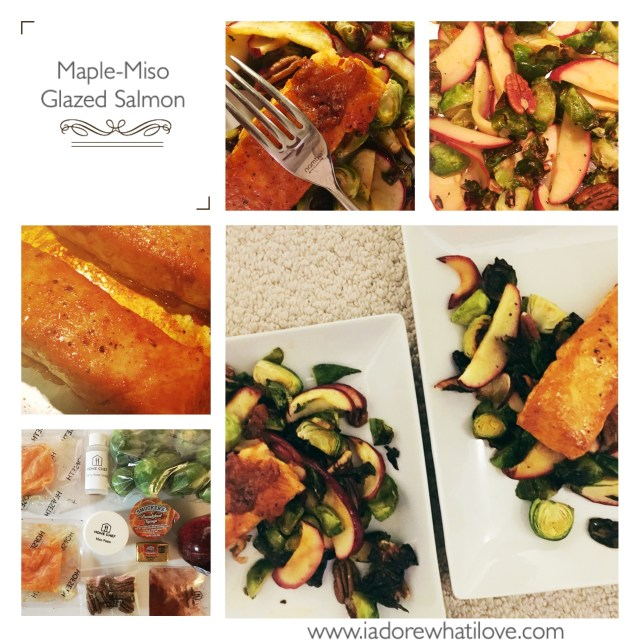I Adore What I Love Blog // Weekly Wins #3 // Home Chef Salmon // www.iadorewhatilove.com #iadorewhatilove
