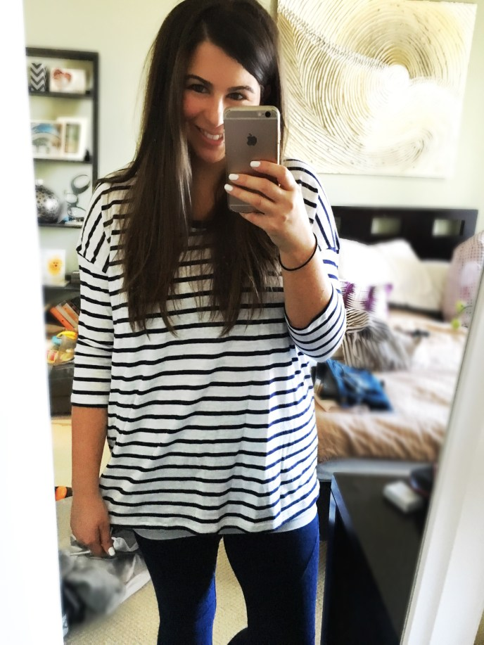 I Adore What I Love Blog // Weekly Wins #6 // Striped Shirt // www.iadorewhatilove.com #iadorewhatilove