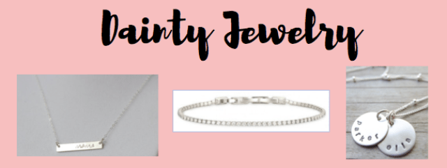 I Adore What I Love Blog // THE ULTIMATE MOTHER'S DAY GIFTS FOR THE COOLEST MOMS // dainty jewelry // www.iadorewhatilove.com #iadorewhatilove