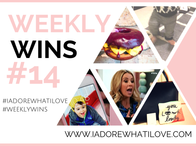 I Adore What I Love Blog // WEEKLY WINS #14 // www.iadorewhatilove.com #iadorewhatilove