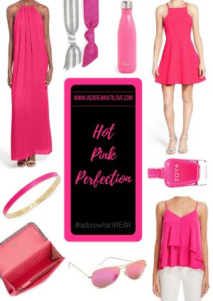 I Adore What I Love Blog // HOT PINK PERFECTION // www.iadorewhatilove.com #iadorewhatilove