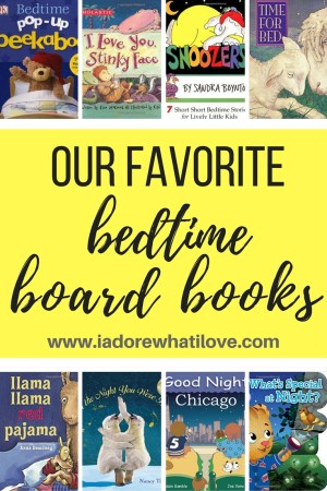 I Adore What I Love Blog // OUR FAVORITE BEDTIME BOOK BOOKS // www.iadorewhatilove.com #iadorewhatilove