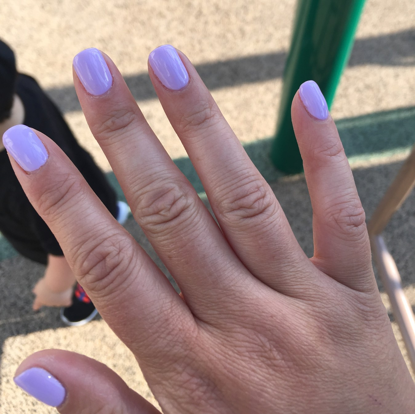 I Adore What I Love Blog // WEEKLY WINS #21 // Lilac Gel Nails / www.iadorewhatilove.com #iadorewhatilove