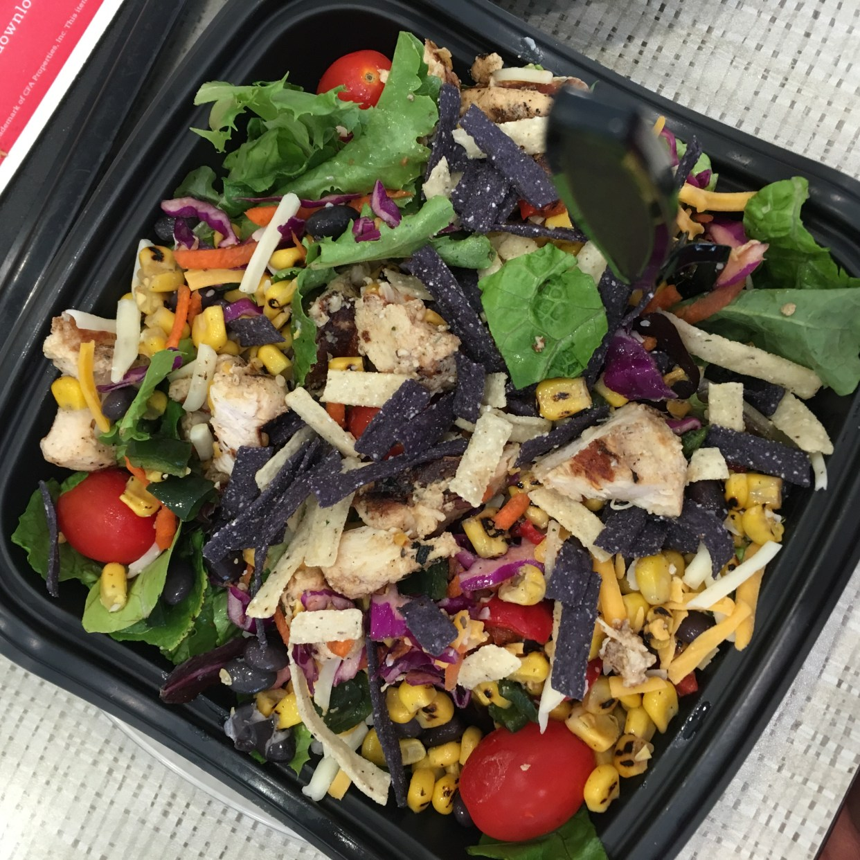 I Adore What I Love Blog // WEEKLY WINS #21 // Chick-fil-A salad // www.iadorewhatilove.com #iadorewhatilove