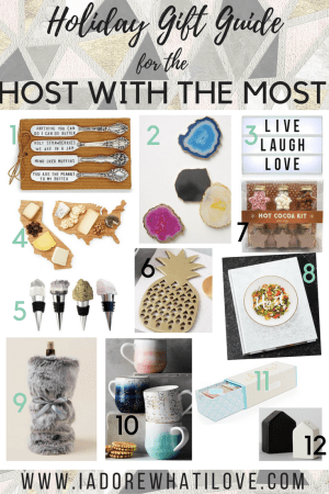 I Adore What I Love Blog // Holiday Gift Guide for the HOST with the Most // www.iadorewhatilove.com #iadorewhatilove