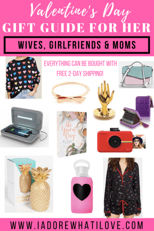 Valentine's Day Gift Guide for Her // I Adore What I Love Blog // www.iadorewhatilove.com #iadorewhatilove