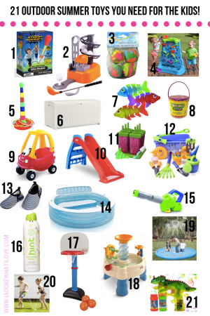 21 OUTDOOR TOYS YOU NEED FOR YOUR KIDS THIS SUMMER! :: I Adore What I Love Blog :: www.iadorewhatilove.com #iadorewhatilove