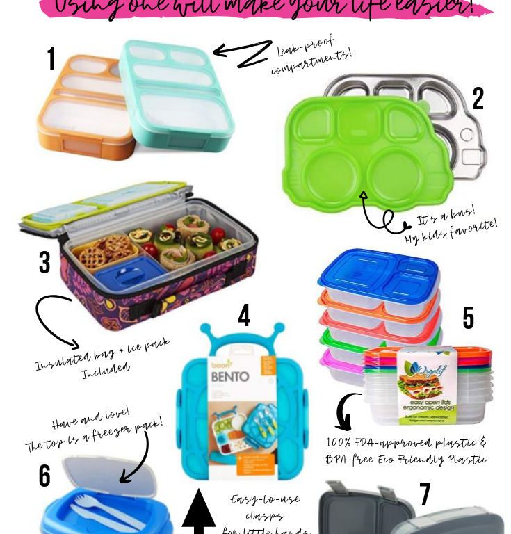 7 BENTO BOXES YOU NEED FOR BACK TO SCHOOL LUNCHES! :: I Adore What I Love Blog :: www.iadorewhatilove.com #iadorewhatilove