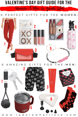 VALENTINE'S DAY GIFT GUIDE FOR THE WOMEN AND MEN IN YOUR LIFE :: I Adore What I Love Blog :: www.iadorewhatilove.com #iadorewhatilove