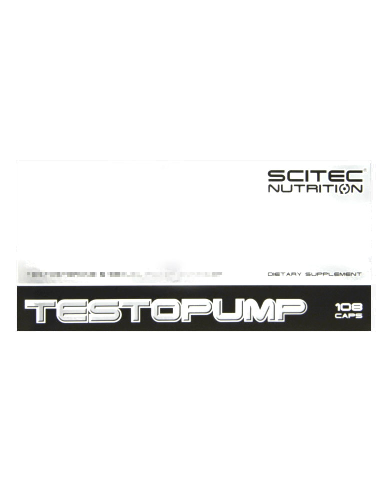 Testopump by SCITEC NUTRITION (108 capsules)