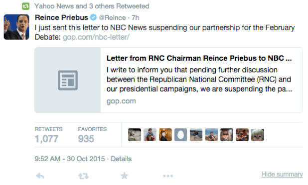 ted-cruz-republican-war-on-mainstream-media-reince-priebus-tweet-cnbc-debate