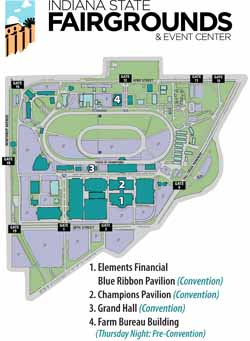 Indiana State Fair Map. Indiana State Fair Map With Indiana State ...