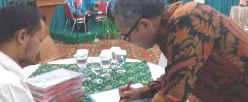 IAIN Padangsidimpuan Menandatangani MoU (Memorandum of Understanding) Bersama Kementerian Dalam Negeri Republik Indonesia