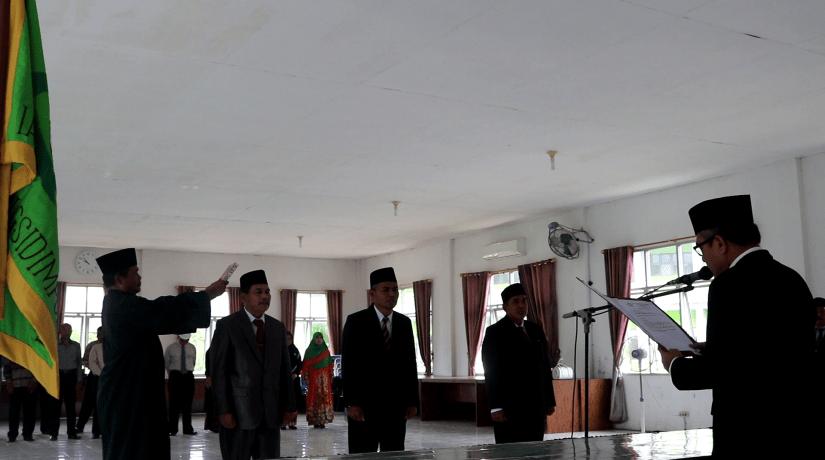Rektor IAIN Padangsidimpuan Lantik Tiga Pejabat Wakil Rektor