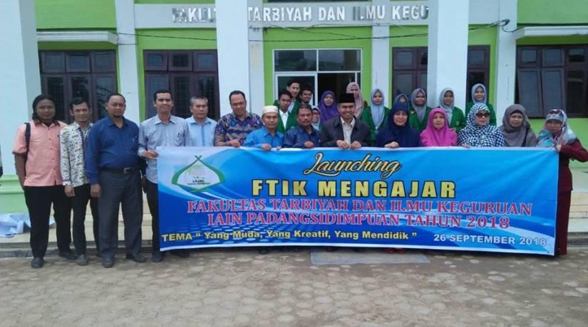 FTIK IAIN Padangsidimpuan Launching Program FTIK Mengajar
