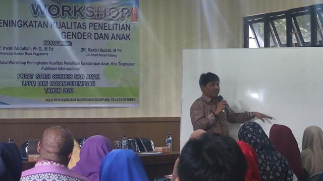 LPPM IAIN Padangsidimpuan Gelar Workshop Penelitian Gender Dan Anak