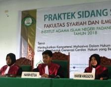 Tingkatkan Kompetensi Mahasiswa FASIH di Peradilan Semu